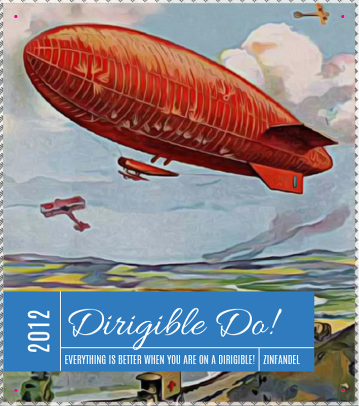 Picture of Dirigible Do! Metal Sign