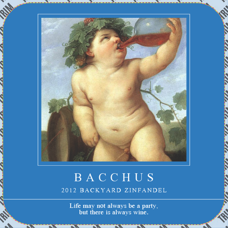 Picture of Bacchus Coaster, Double Sided