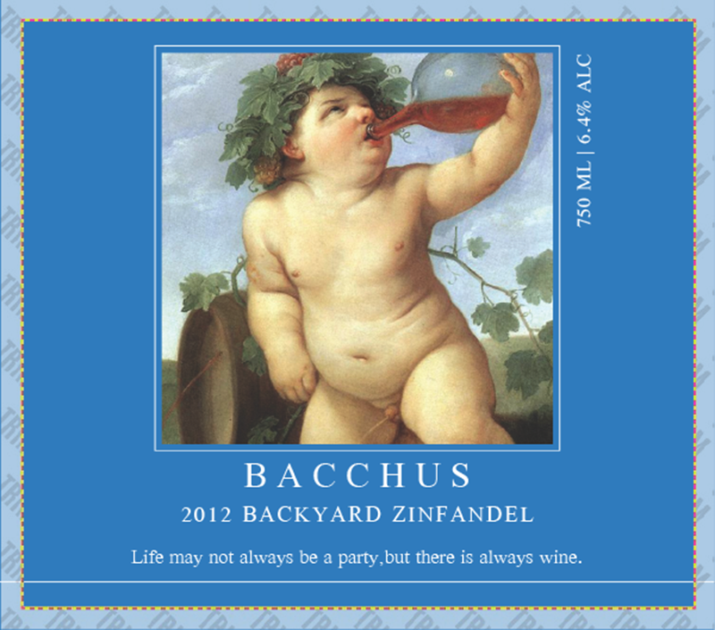 Picture of Bacchus Square Set Landscape
