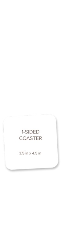 Picture for category Coaster, Single Sided