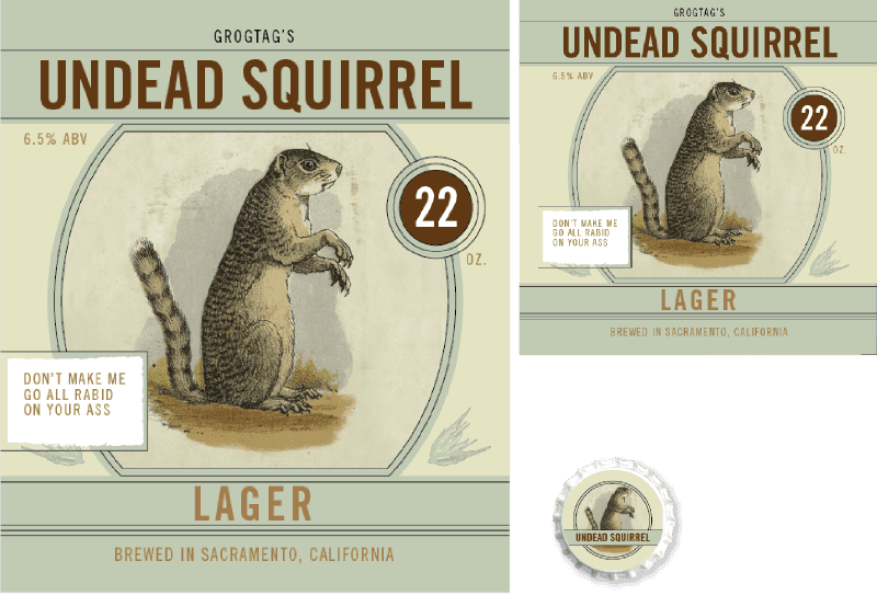 Picture for category Undead Squirrel Design