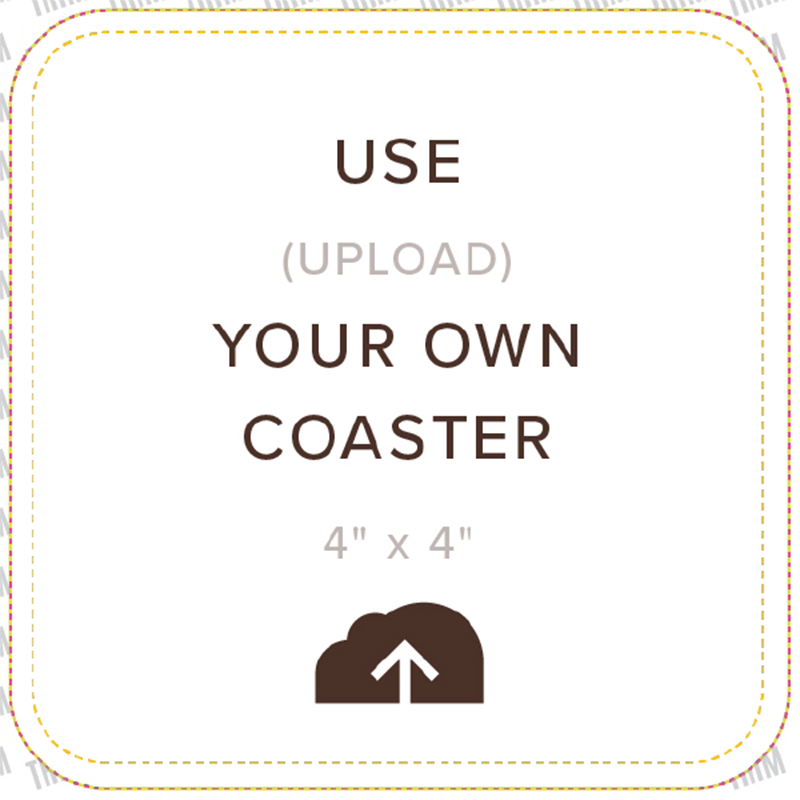 Picture of Upload Your Own Coaster, Single Sided