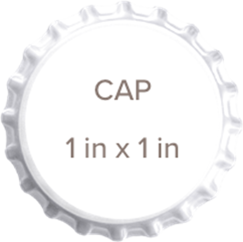 Picture for category Custom Bottle Caps