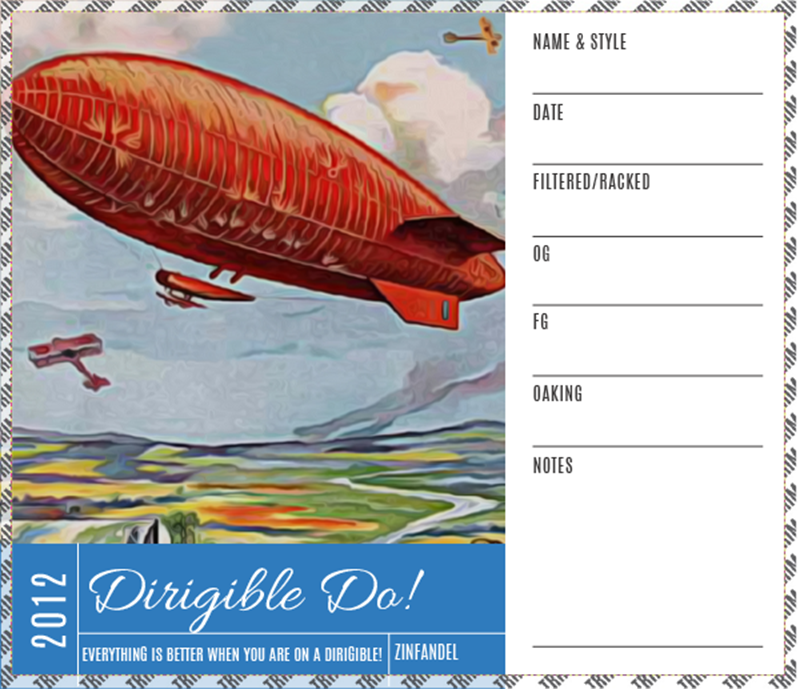 Picture of Dirigible Do! Carboy