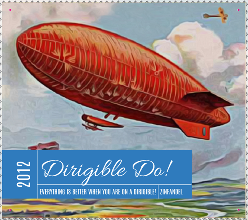Picture of Dirigible Do! Metal Sign Landscape