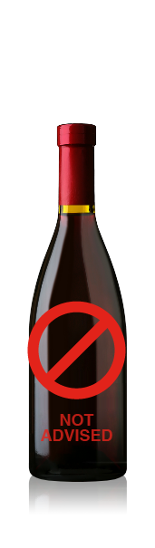 Split bottle with no label. CrushTag does not advise to apply an oval label set with necker to this type of bottle.