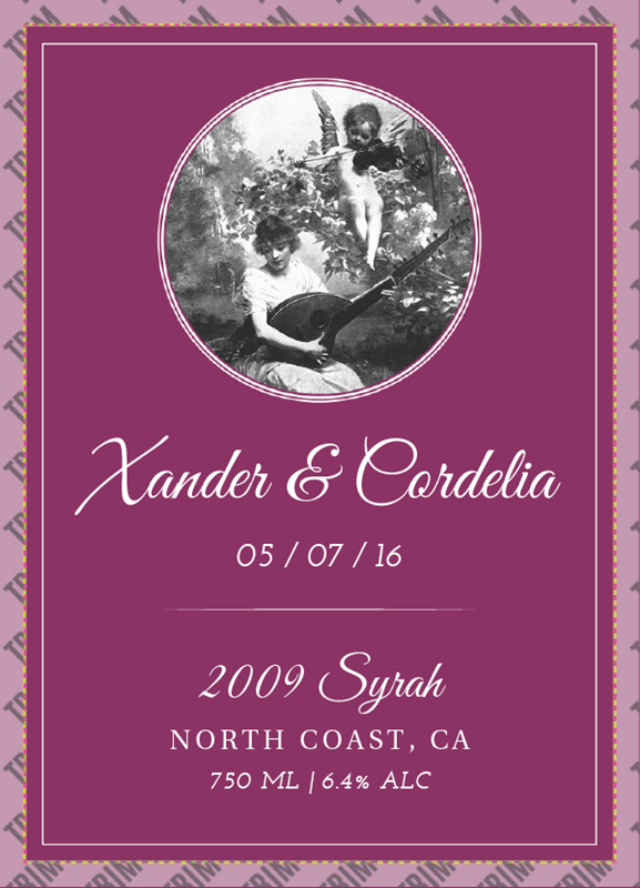 Picture of Wedding Syrah Volo