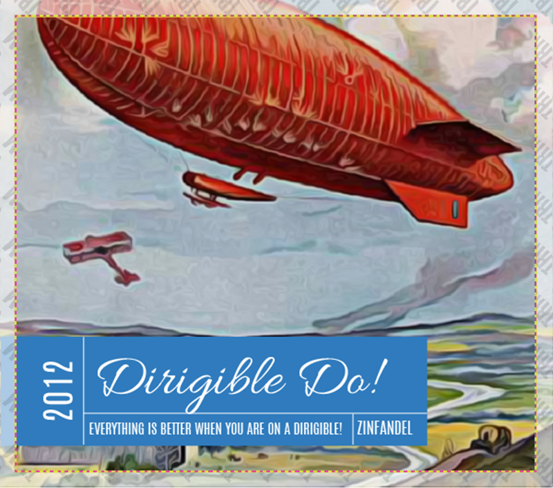 Picture of Dirigible Do! Square Set Landscape