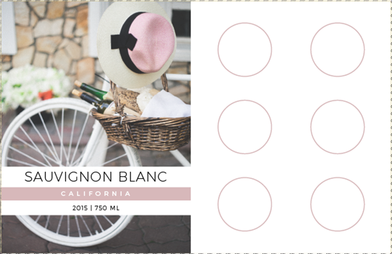 Picture of Blanc Tasting Mat