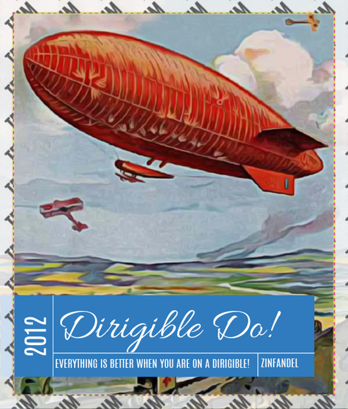 Picture of Dirigible Do! Wine Set