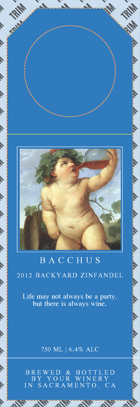 Picture of Bacchus Hangtag