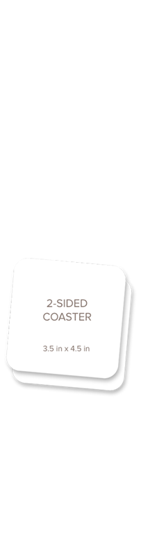 Picture for category Coaster, Double Sided