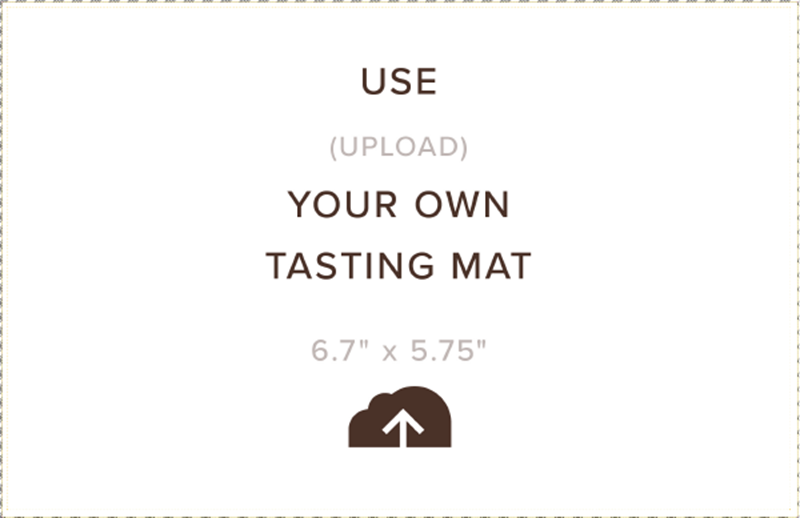 Picture of Upload Your Own Tasting Mat