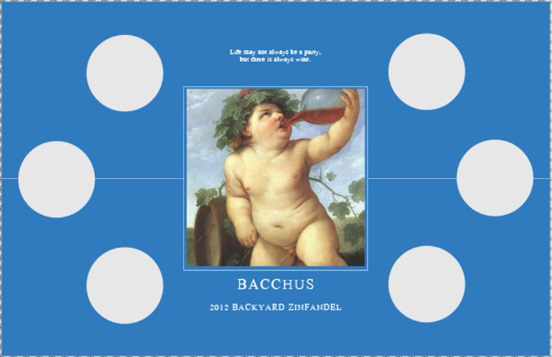 Picture of Bacchus Tasting Mat